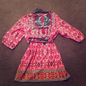 Colorful dress new with tags XL